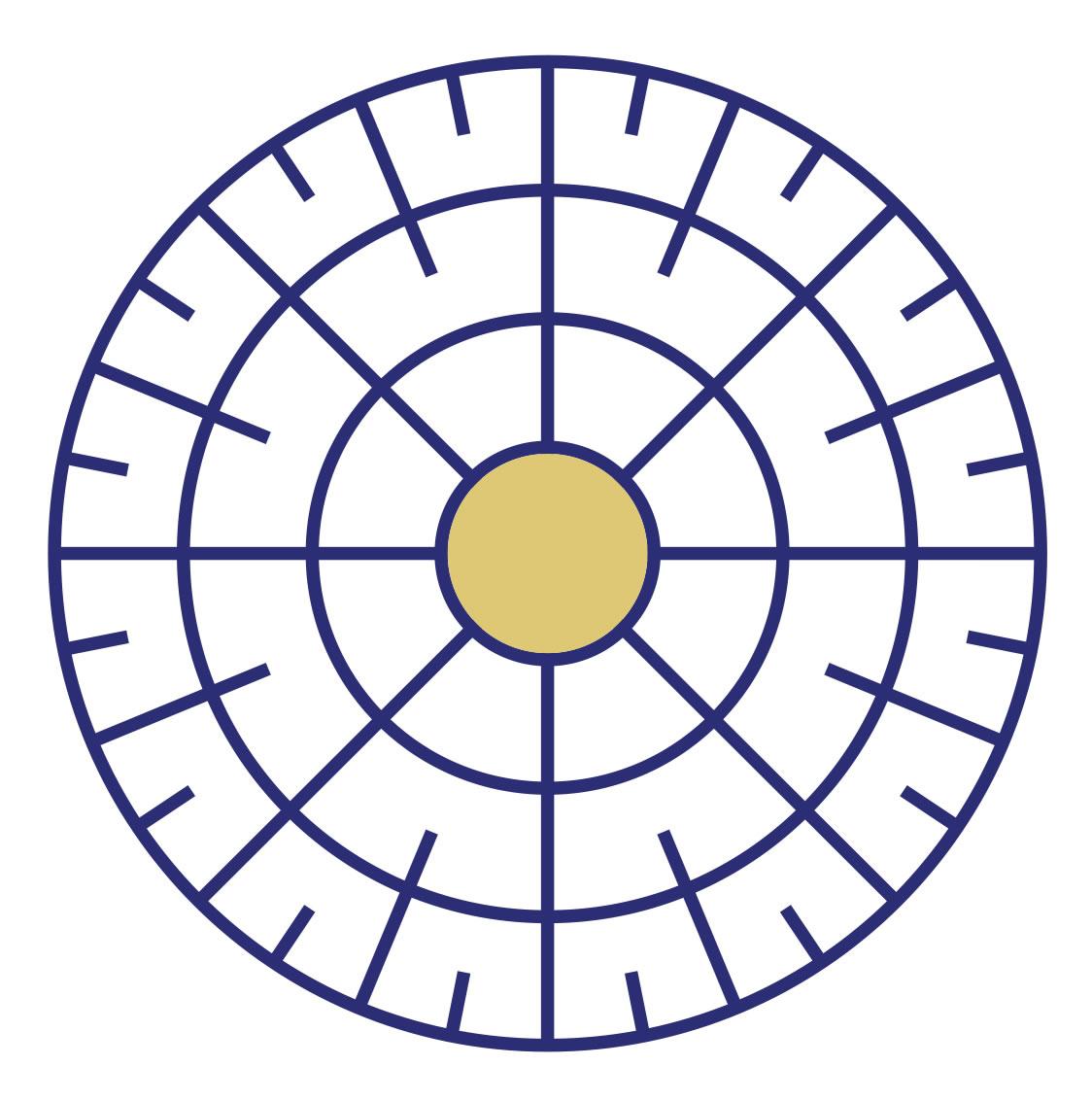 Symbole de la Divinité de la religion Martienne