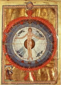 Hombre como MicroCosmos -Liber Divinorum Operum - Hildergard Von Bingen